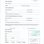 druk rejestracji