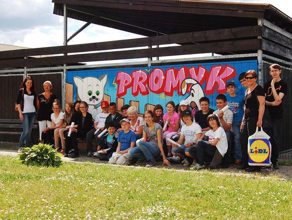 Wizyta młodzieży z Niepublicznej Szkoły Sokrates Gdańsk 11-06-2013