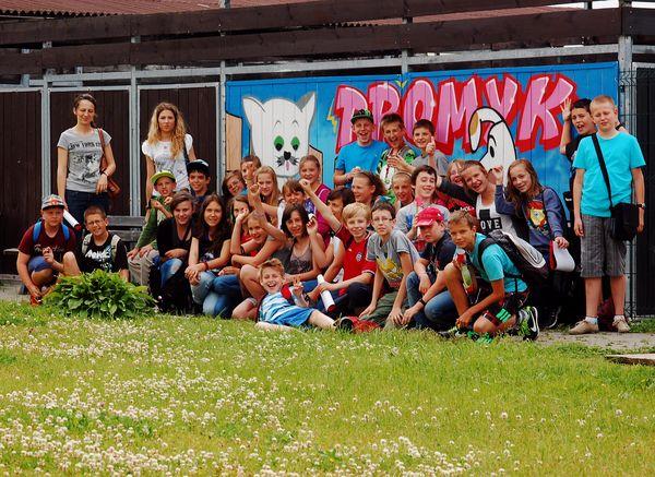 Wizyta młodzieży ze szkoły Podstawowej nr 2 im. Mikołaja Kopernika Pruszcz Gdański (13-06-2013)