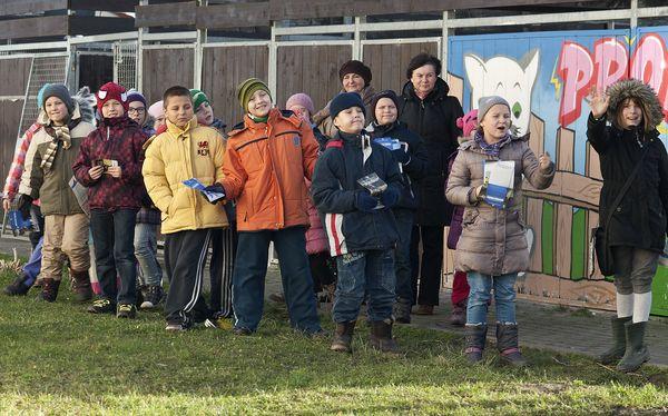 Wizyta dzieci ze szkoły Pdst. nr 39 Gdańsk (kl.IIIb) 28-11-2013