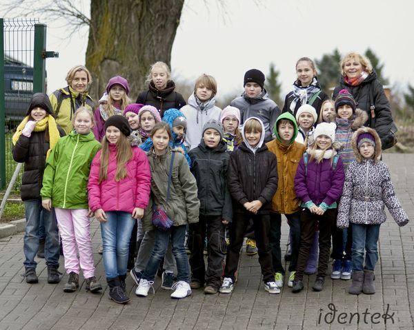 Wizyta młodzieży ze Szkoły Podstawowej nr 17 w Gdańsku