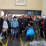 Wizyta młodzieży ze Szkoły Podstawowej w Przywidzu 10-12-2013 (2)