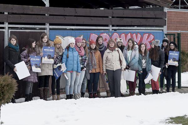 Wizyta młodzieży ze Zespołu kształcenia podstawowego i gimnazjalnego nr 6 Gdańsk 09-12-2013