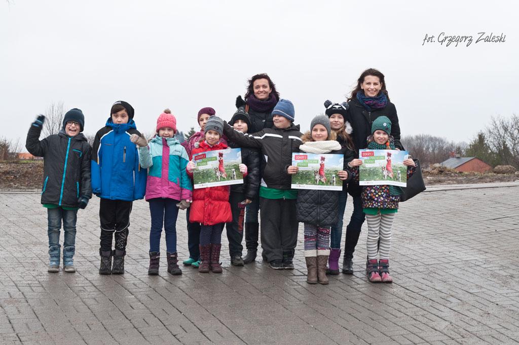 Wizyta dzieci ze Szk. Pdst. nr 8 w Gdańsku