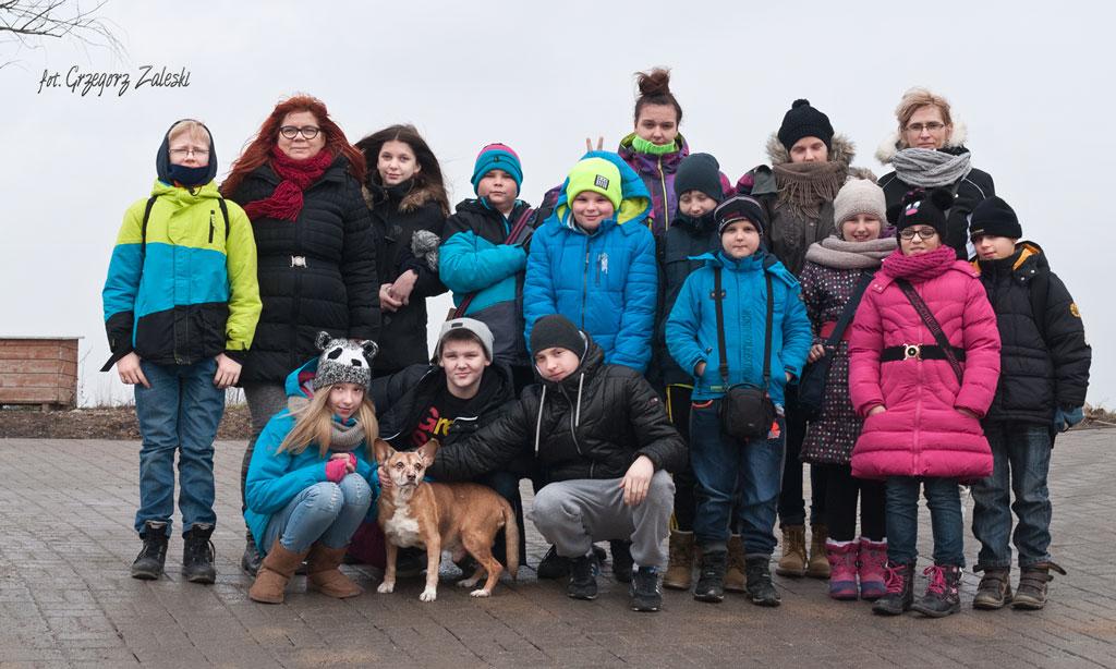 Wizyta młodzieży ze szk.pdst. nr 16 Gdańsk 08-01-2015
