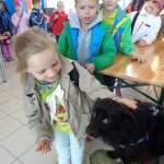 Wizyta dzieci ze szk. pdst. nr 8 podziękowania (4)