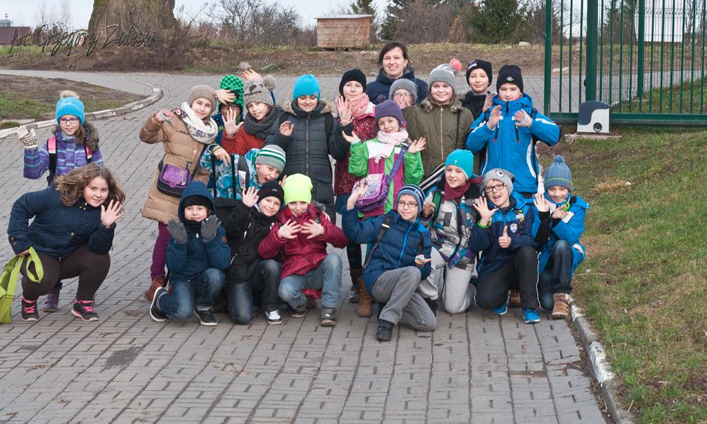 Wizyta dzieci ze szk. 92 (10-12-2015)