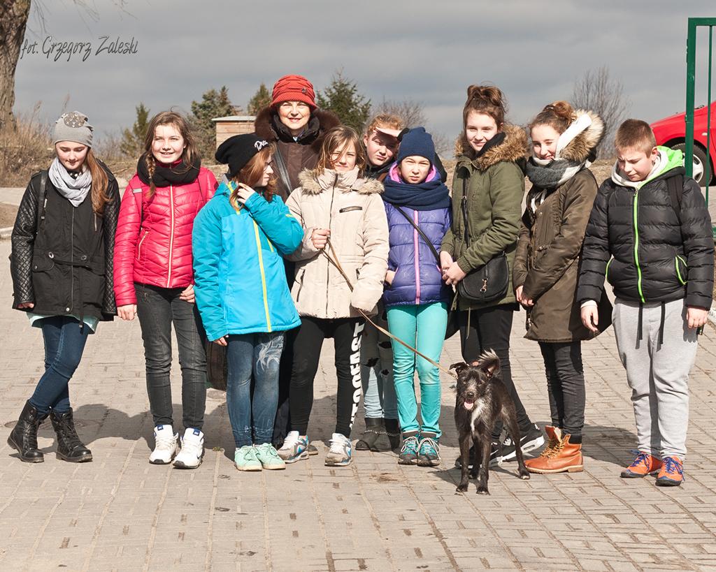 wizyta młodzieży z koła Caritas przy szk. pdst. 59 Gdańsk