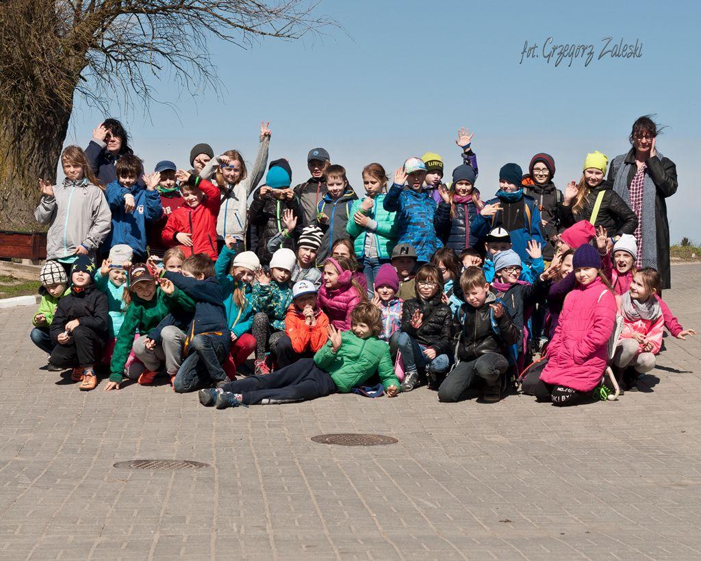 wizyta uczniów ze szk. pdst. nr 70 Gdańsk 21-04