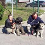 Lesio i Ksenia w nwoym domu 01.10.2017.