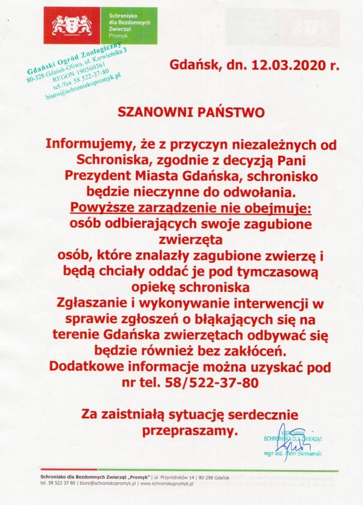 komunikat 2